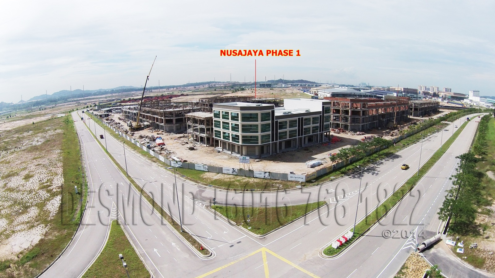Nusajaya Square Phase 1 Ariel View 02